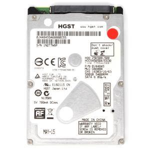HGST(日立)型番:HCC545050A7E630 容量500GB 2.5インチ 5400 rpm 厚さ7mm 動作保証品 pc-parts-firm
