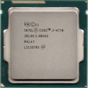 インテル Intel 第4世代 Core i7-4770 3.4GHz 4コア8スレッド 動作保証品【中古】|pc-parts-firm