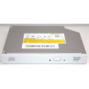 内蔵型DVDスリムドライブ UJ8E0 12.7mm SATA 白ベゼル 読み込みのみのドライブ pc-parts-firm