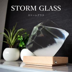 ストームグラス テンポドロップ ガラス天気予報ボトル インテリア 雑貨 おしゃれ Tempo Dro...