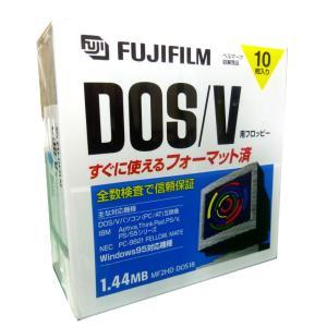 富士フィルム MF2HDDV CK10P 2HD DOS/V 10枚 3.5型FD