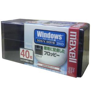 日立マクセル 3.5インチ フロッピーディスクWindows 40枚 MFHD18.D40P