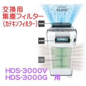 [F03] 富士通ゼネラル プラズマイオンUV脱臭機 カテキン集塵フィルター HDS-3000V・H...