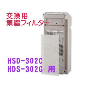 [F14]富士通ゼネラル PLAZION HDS-302C・HDS-302G 用 集塵フィルター 集...
