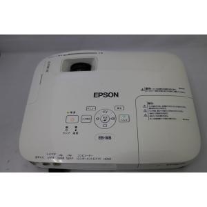 2927  訳有り品  EPSON EB-W8 液晶プロジェクター 2500lm 使用時間 2759H  本体キズあり