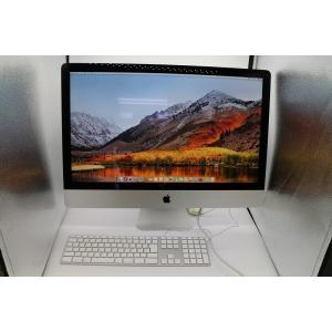人気のApple Mac 27インチ一体型パソコン  macOS High Sierra 10.13...