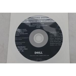 ゆうパケット対応商品、代引き不可 DELL Windows7ProSP1 64Bit インストールDVD 【S3422】