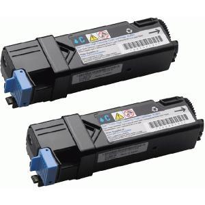 DELL 1320C 大容量シアン (2本入) リサイクルトナー デル カラーレーザープリンター 1320C/1320Cn/インク pc99net