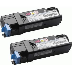 DELL 1320C 大容量 マゼンタ (2本入) リサイクルトナー デル カラーレーザープリンター 1320C/1320Cn/インク pc99net