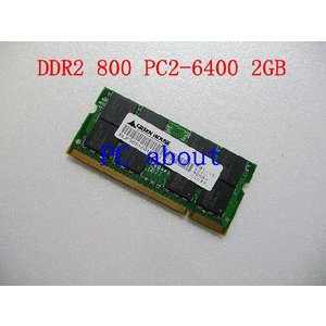 [GREEN HOUSE] PC2-6400 SODIMM DDR2-800 2GB 200pin プラントメーカ相性抜群|pcaboutshop