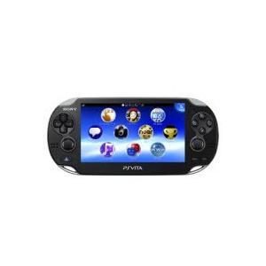 ソニー・コンピュータエンタテインメント PCH-1100 AB01 クリスタル・ブラック PlayStation Vita 3G/Wi-Fiモデル|pcbomber