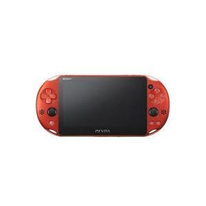 ソニー・コンピュータエンタテインメント [箱難ありB](PCH-2000 ZA26) メタリック・レッド PlayStation Vita (プレイステーション ヴィータ) Wi-Fiモデル|pcbomber