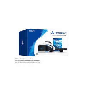 ソニー・コンピュータエンタテインメント [箱難ありB](CUHJ-16006)PlayStation VR PlayStation VR WORLDS同梱版|pcbomber