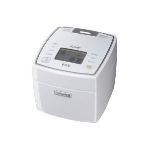 三菱(ミツビシ) 備長炭 炭炊釜 NJ-VVA10 ピュアホワイト