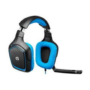 ロジクール ゲーミングヘッドセット G430 Surround Sound Gaming Headset [ブラック・ブルー]|pcdepot