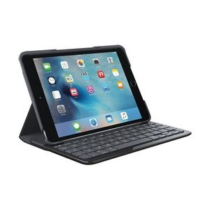 ロジクール iK0772BK (Bluetooth接続 59キー 英語キーボード) for iPad mini 4