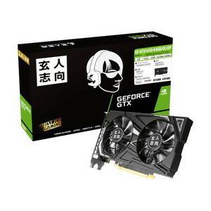 玄人志向 GF-GTX1650-E4GB/OC/DF (PCIExp GeForce GTX 1650 4GB)