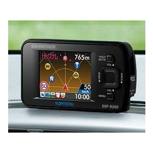 YUPITERU ユピテル GPS&レーダー探知機 EXPERTNER EXP-R200 ワンボディタイプ 送料無料|pcfreak