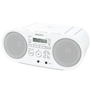 SONY ソニー CDラジオ ZS-S40(W...の関連商品7