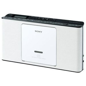 SONY ソニー CDラジオ CDラジカセ ZS-E80-W ホワイト 即納・送料無料 pcfreak