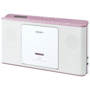SONY ソニー CDラジオ CDラジカセ ZS-E80-P ピンク 即納・送料無料 pcfreak