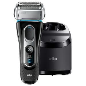 BRAUN メンズ電気シェーバー シリーズ5 5197cc 洗浄器付モデル お風呂剃り対応 トラベル...
