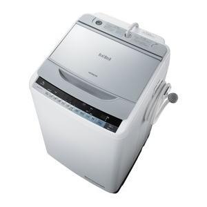 HITACHI 日立 全自動洗濯機 洗濯9kg ビートウォッシュ BW-9WV-S シルバー 即納・送料無料|pcfreak