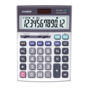 CASIO 本格実務電卓 DS-12WT-N 12桁 カシオ 送料無料・即納 pcfreak