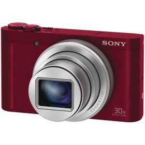 SONY ソニー コンパクトデジタルカメラ Cyber-shot サイバーショット DSC-WX500-R レッド 送料無料|pcfreak