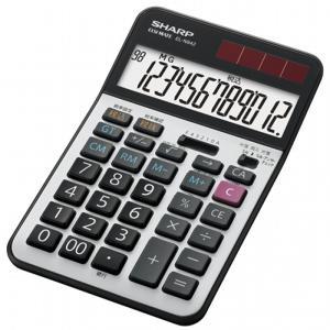 SHARP 実務電卓(ナイスサイズタイプ) EL-N942-X 12桁 シャープ 送料無料・即納 pcfreak