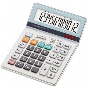 SHARP 電卓(セミデスクタイプ) 12桁 EL-S752K-X グリーン購入法適合電卓 シャープ 送料無料・即納 pcfreak