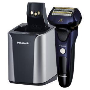 Panasonic パナソニック 電気シェーバー 5枚刃 ラムダッシュ ES-CLV7B-A 青  送料無料・即納 (同等品:ES-LV7B-A) pcfreak