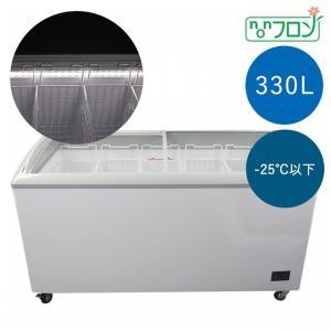 JCM 冷凍ショーケース LED照明付 -25℃以下 330L JCMCS-330L 冷凍庫 ジェーシーエム 送料無料・代引き不可|pcfreak