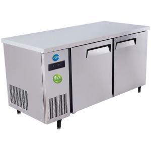 JCM ヨコ型冷蔵庫 400L JCMR-1575T-IN 厚型 −2℃〜12℃ コールドテーブル (インバーター搭載)ジェーシーエム 送料無料・代引き不可|pcfreak