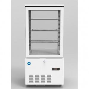 JCM 4面ガラス冷蔵ショーケース 片面扉 2℃〜12℃ 130L JCMS-130 冷蔵庫 (JCMS-128の後継機種) ジェーシーエム 送料無料・代引き不可|pcfreak