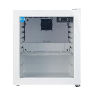 JCM 卓上型冷蔵ショーケース -6℃〜10℃ 46L JCMS-46-TO ホワイト 冷蔵庫 送料無料・代引き不可|pcfreak