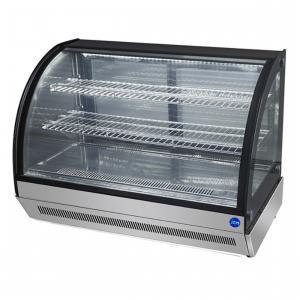 JCM 卓上型対面冷蔵ショーケース 2℃〜8℃ ラウンド型 60L JCMS-60T 冷蔵庫 ジェーシーエム 送料無料・代引き不可|pcfreak
