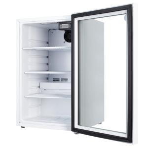 JCM 卓上型冷蔵ショーケース -6℃〜10℃ 64L JCMS-66-TO ホワイト 冷蔵庫 送料無料・代引き不可|pcfreak