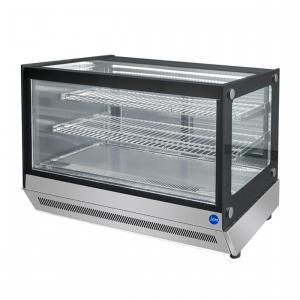 JCM 卓上型対面冷蔵ショーケース 2℃〜8℃ 角型 70L JCMS-70T 冷蔵庫 ジェーシーエム 送料無料・代引き不可|pcfreak