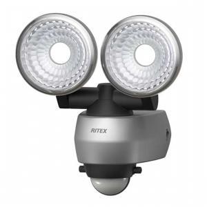 ムサシ 7.5W×2灯 LEDセンサーライト LED-AC315 MUSASHI 即納・送料無料〜 @|pcfreak