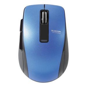 ELECOM マウス M-BT20BBBU ブルー Bluetooth(R)4.0 BlueLED 5ボタンマウス 即納・送料無料 pcfreak