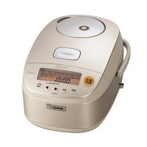 ZOJIRUSHI 象印 圧力IH炊飯ジャー 極め炊き 5.5合炊き NP-BE10-TD ダークブラウン 送料無料|pcfreak