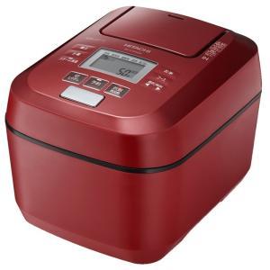 日立 圧力&スチームIHジャー炊飯器 5.5合 RZ-V100DM(R) メタリックレッド ふっくら御膳 HITACHI 送料無料・即納 pcfreak