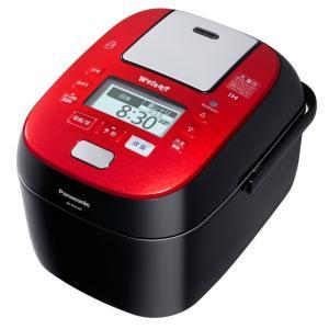 Panasonic パナソニック スチーム&可変圧力IHジャー炊飯器 5.5合 SR-SPX107-RK ルージュブラック 即納・送料無料|pcfreak