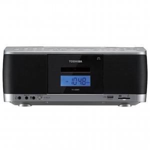 TOSHIBA 東芝 SD/USB/CDラジオカセットレコーダー TY-CDX91-S シルバー ワイドFM対応 即納・送料無料 pcfreak