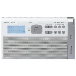 東芝 SD/USB録音ラジオ TY-RHR1(W) ホワイト TOSHIBA 即納・送料無料 pcfreak