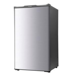 エスキュービズム 60L 1ドア冷凍庫 WFR-1060SL シルバー 即納・送料無料 pcfreak