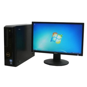 中古パソコン DELL Vostro260S/22型Full HD液晶/Corei3-2120(3.3Ghz)/メモリ4GB/HDD250GB/DVD-ROM/Office Kingsoft/HDMI//Windows7Pro32bit(y-dtb-557)|pchands