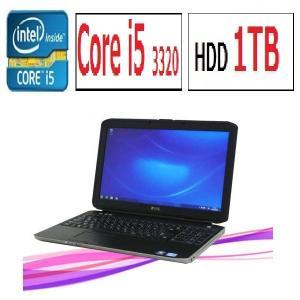中古パソコン ノ−トパソコン DELL Latitude E5530 15.6型液晶 Core i5 3320M メモリ4GB 新品HDD1TB DVDマルチ 無線LAN HDMI Windows7 Pro y-na-067-3|pchands