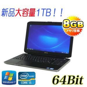 ノ−トパソコン Core i5 3320M DELL Latitude E5530 15.6型液晶 大容量HDD1TB(1000GB) メモリ8GB DVDマルチ 無線LAN HDMI Windows7Pro 64bit y-na-068-3|pchands